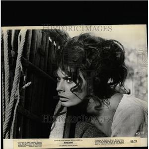 1963 Press Photo Actress Sophia Loren Madama - RRW08105