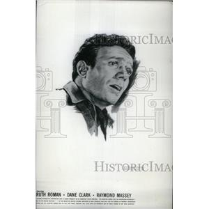 1953 Press Photo Actor Dane Clark - RRX47913