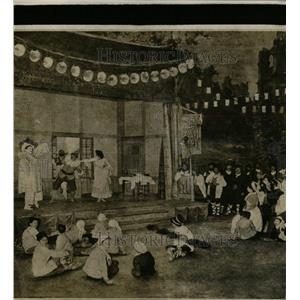 1920 Press Photo Chicago Civic Opera Pagliacci - RRW59179