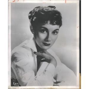 "1954 Press Photo Leila Martin As Julie Goodwin In ""The Golden Windows""."