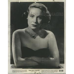 1950 Press Photo Lovely Valli Joseph Cotten Film Actress - RSC30447