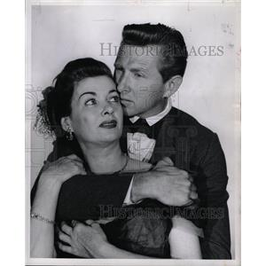 1955 Press Photo Lloyd Vernet Bridges American actor - RRW13493