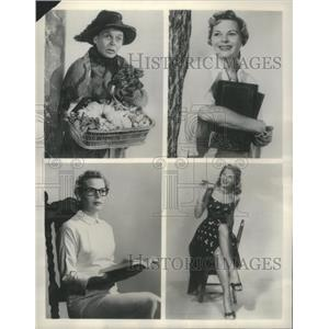 1957 Press Photo When Television and Radio Roles Call for Mary K. Wells