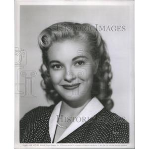 1953 Press Photo Rari Helson Famous Actress Pose Cameraman Entertainer