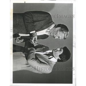 1980 Press Photo Barry Sullivan Dan Tanna Vega$ - RRX90365