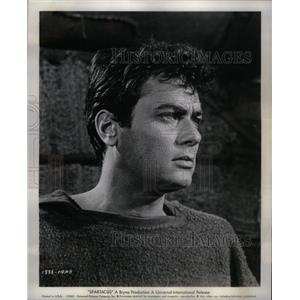 1960 Press Photo Tony Curtis is Antoninus in Spartacus - RRX58371