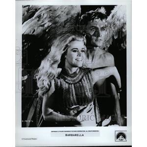 1968 Press Photo Barbarella Film Promo Actors Fonda - RRW18477