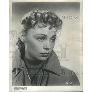 1953 Press Photo Copy Dany Robins After She Shot Act Of Love - RSC38443