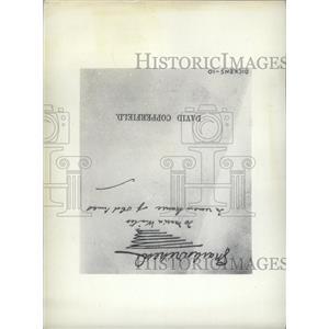 1934 Press Photo David Copperfield Charles Dickens copy - RRW98469