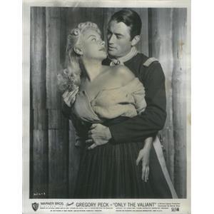 1951 Press Photo Barbara Payton American Film Actress & Gregory Peck Actor