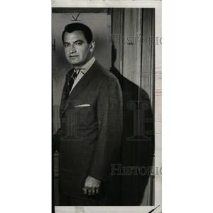 1961 Press Photo Bruce Gordon American Television Actor - RRW98405