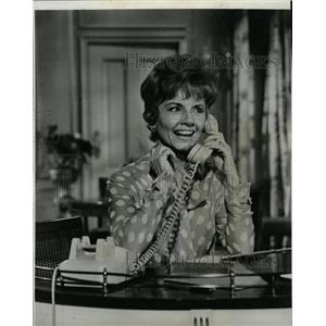 1964 Press Photo Janet Blair Wake Up Darling Actress - RRW20931