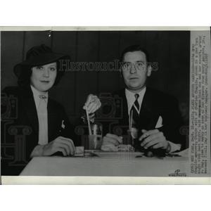 1937 Press Photo Lita Grey Chaplin American Actress - RRX67367