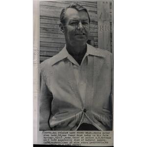 1964 Press Photo Alan Ladd American Film Actor - RRX64429