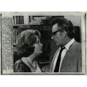 1966 Press Photo American Actress Elizabeth Taylor - RRW02697