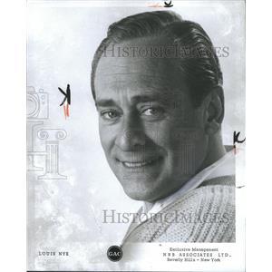 1966 Press Photo Louis Nye American Comedy Actor. - RRW36893