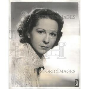 1941 Press Photo Actress Muriel Kirkland - RSC03049