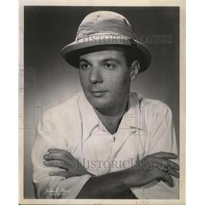 1957 Press Photo Actor Hal Linker John E.reed - RRW14697