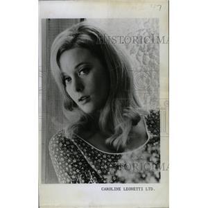 1967 Press Photo JAN GARRISON MODEL ACTRESS - RRW99615