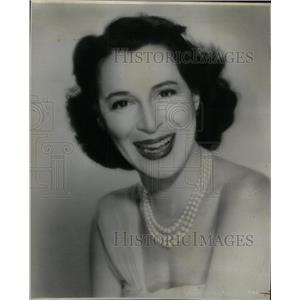 1965 Press Photo Kitty Carlisle American singer actress - RRX57307