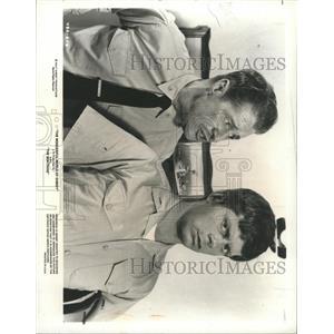 1978 Press Photo Actors Robert Morse And Don Ameche - RRX90383