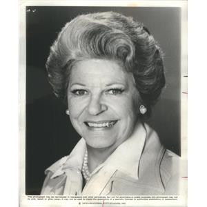 1979 Press Photo Martha Raye American comic actress standards singer movies