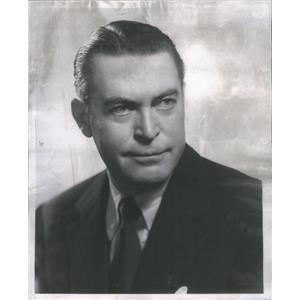 1954 Press Photo Chester Morris American Actor - RSC90933