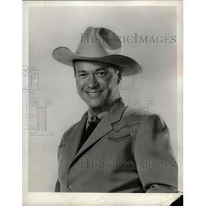 1960 Press Photo Actor Kirby Grant - RRW13405