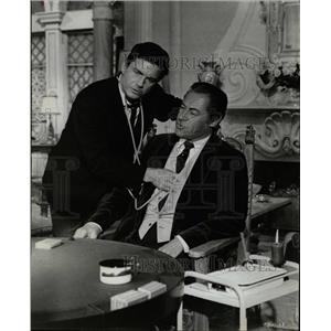 1967 Press Photo Rex Harrison Cliff Robertson World Men - RRW16025