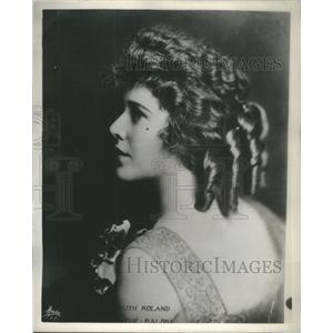 1934 Press Photo Ruth Roland American Stage Movie Actress Producer - RSC38929