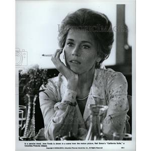 1979 Press Photo Jane Fonda California Suite Neil Simon - RRW18583