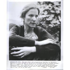 1979 Press Photo MEG WYNN OWEN WELSH ACTRESS - RSC90175