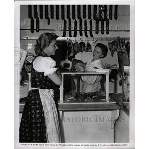 1956 Press Photo Cornell Borchers Never Say Goodbye - RRW18689