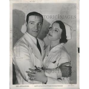 1936 Press Photo Ricardo Cartez and Kay Linaker - RSC01453
