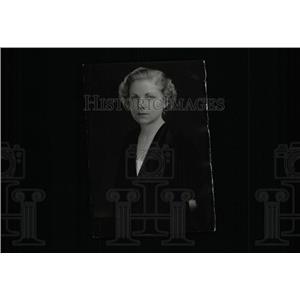 1935 Press Photo Virginia Fox Film TV Actress Chicago - RRW98001