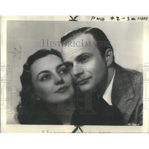 1938 Press Photo Edgar Bergen and Andrea Leeds star in Letter of Introduction