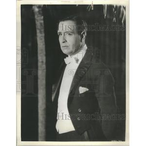 1934 Press Photo Conway Tearle American Stage & Film Actor - RSC45257