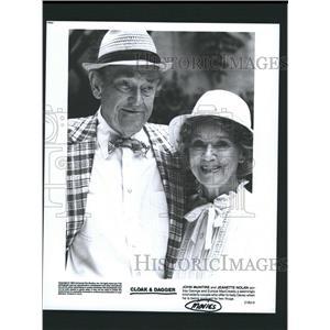 Press Photo John McIntire and Jeanette Nolan - RRW32737