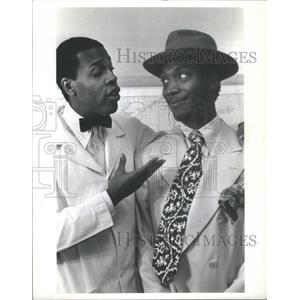 1978 Press Photo Meshach Taylor as Styles and Lionel Smith as Sizwe Banzi