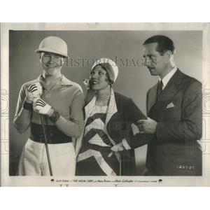 1930 Press Photo Jack Oakie Mary Brian Skeets Gallagher The Social Lion