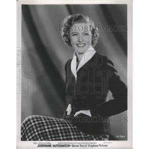 1937 Press Photo Film Actress Josephine Hutchinson Portrait- RSA92075