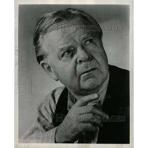 1950 Press Photo Gene Lockhart Canadian Film Actor - RRW18039