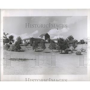 1950 Press Photo Will Rogers 20 Acre Memorial Park in Claremore Oklahoma
