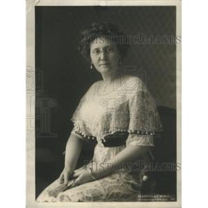 1913 Press Photo Mrs. Thomas R. Marshall- RSA99289