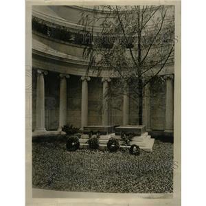 1931 Press Photo Harding Tomb - RRW20345
