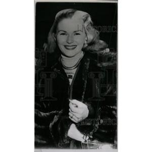 1951 Press Photo Nancy Valentml American actress - RRW82937