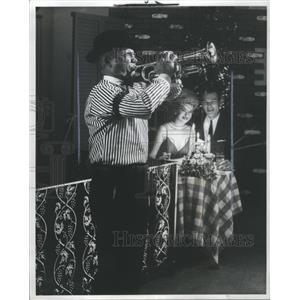 1978 Press Photo New Orleans Nightclubs