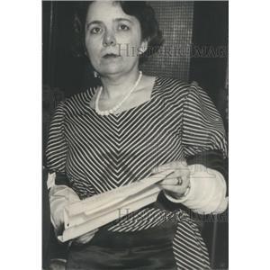 1930 Press Photo Judge Charles Dougherty Shirley Kub CH