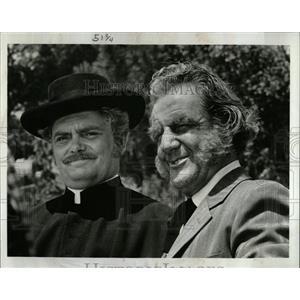1969 Press Photo Bernard Fox and Henry Beckman,actors - RRW07027