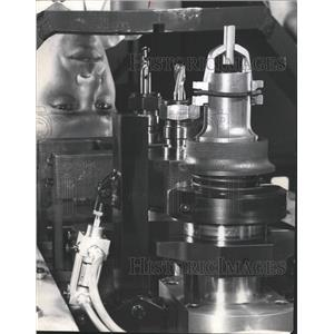 1968 Press Photo Omark Industires Aerospace Tools - RRW46867
